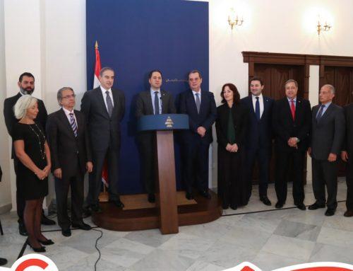 زيارة لائحة بيروت الأولى لرؤساء الأحزاب الداعمة للائحة، ١١ نيسان ٢٠١٨